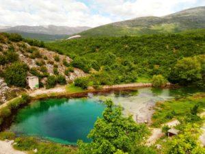 spring of river Cetina