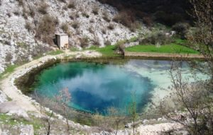 Cetina spring in winter